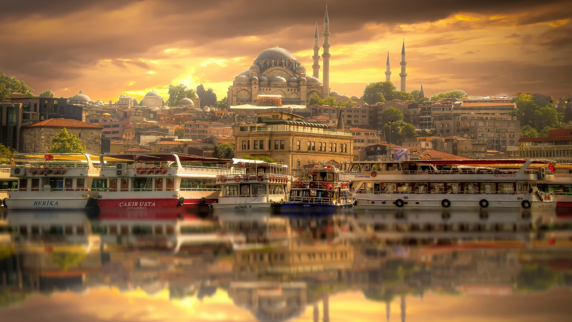 İstanbul'a